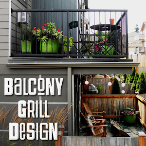 Balcony grill design android apps on google play for Balcony translate