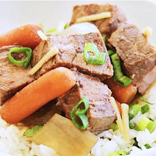 Crock Pot Asian Beef Stew.