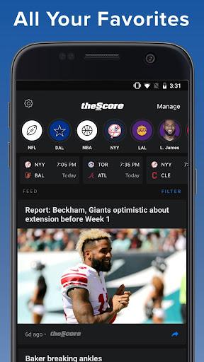 theScore: Live Sports Scores, News, Stats & Videos 6.24.1 screenshots 7