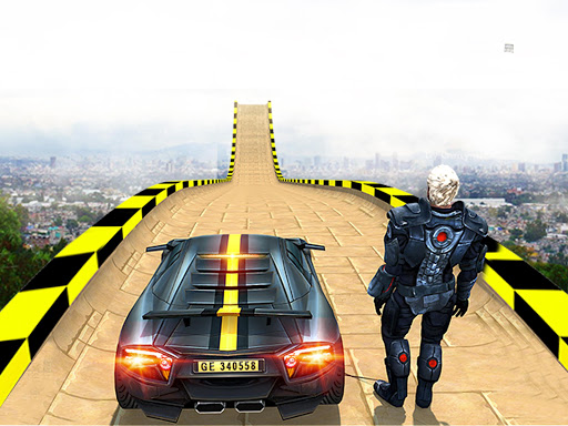 Extreme GT Racing Car Stunts Races screenshots 6