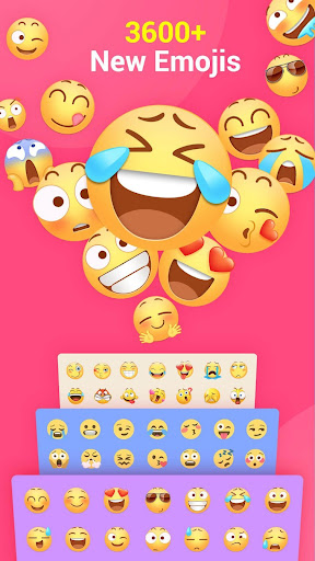 Facemoji Keyboard Lite for Xiaomi - Emoji & Theme 2.3.5.5 screenshots 1