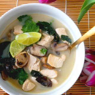 Thai Lemongrass Chicken Soup.