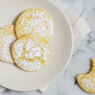 4-Ingredient Lemon Cookies