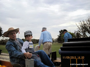 Photo: George Leventon and grandson      HALS / SWLS 2013-1109  DH3