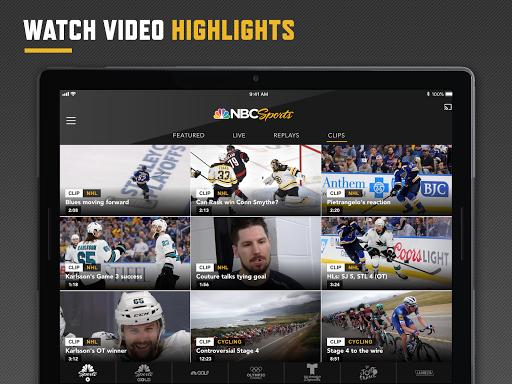 NBC Sports screenshot 13