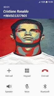Fake Call Cristiano Ronaldo - náhled