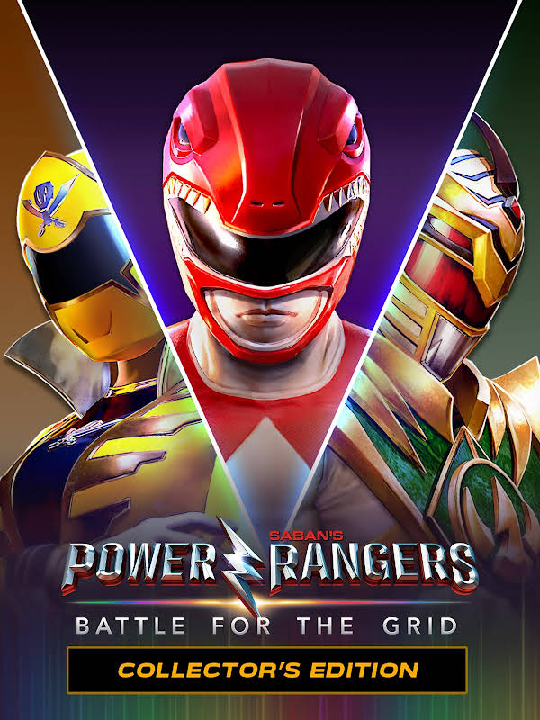 Obrázok na obale hry Power Rangers: Battle for the Grid Collector's Edition