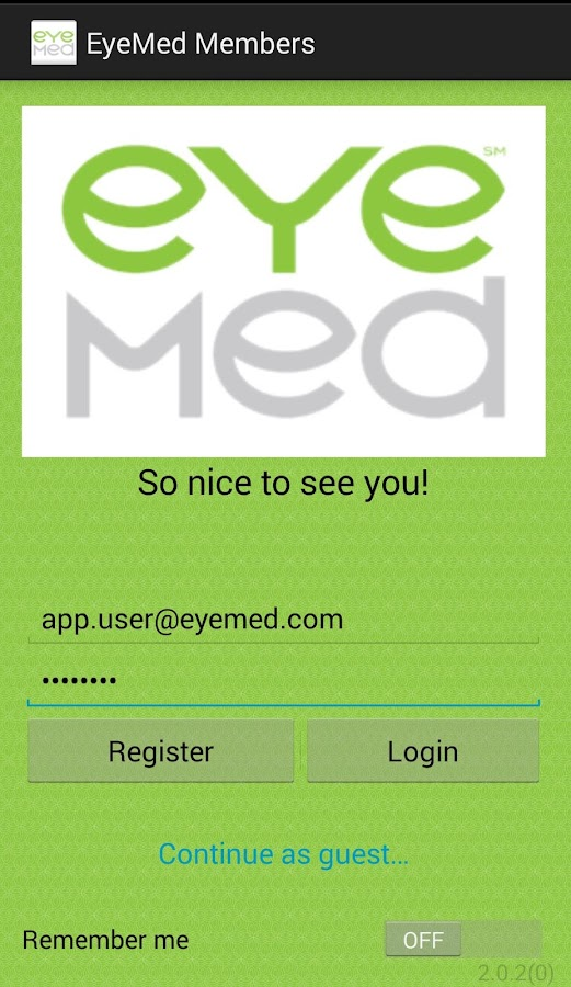 EyeMed Members- screenshot