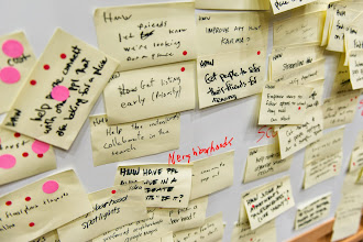 Photo: Check out some of the ideas from our design sprint.