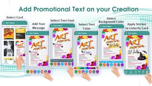 Online Poster Design Maker App Report on Mobile Action - App Store