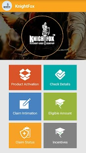 KnightFox Promoter App - náhled