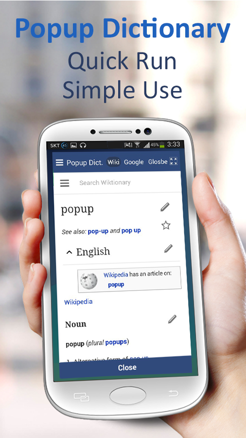 Screenshots of Popup Dictionary-Translate,Web for iPhone