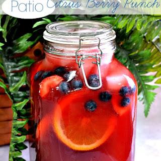Patio Citrus Berry Punch.