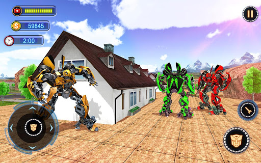 US Robot Car Transform - Police Robot Fighting 1.0.1 screenshots 11