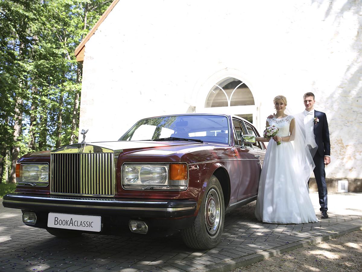 Rolls-royce Silver Spirit Hire London