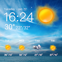 weather and temperature app Pro icon