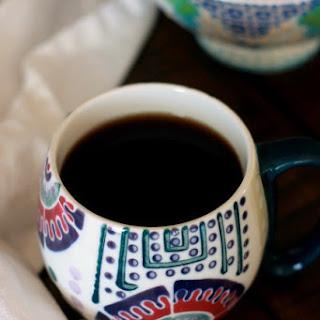 Cinnamon Spiced Black Coffee