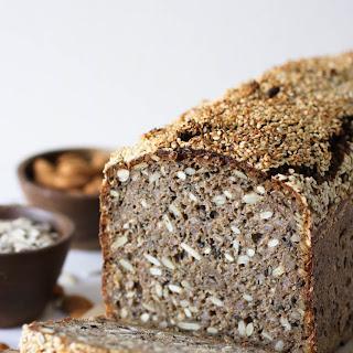 Traditional Danish Rye Bread with Sourdough.