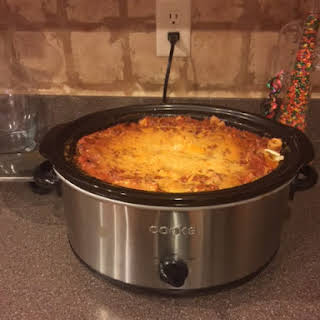Slow Cooker Lasagna .