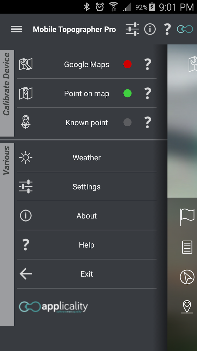 Mobile Topographer Pro Screenshot 2