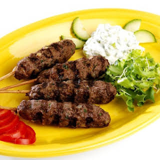 Kofta Kebabs - Middle East Grilled Ground Meat.