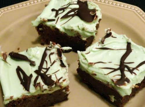 "Go Irish Brownies ""This is one of the best recipes I ever..."