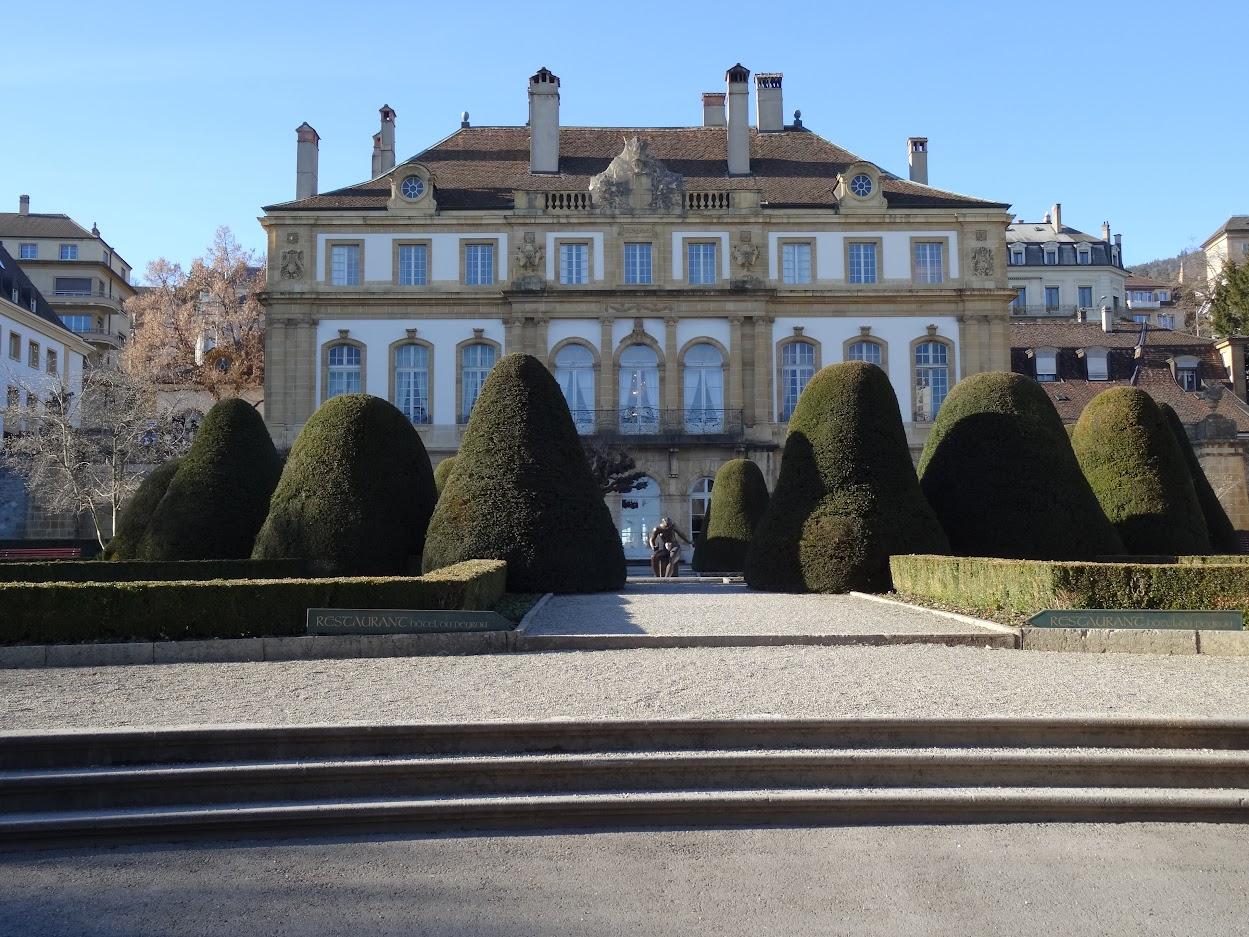 Hôtel Peyrou à Neuchâtel