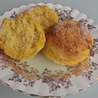 Lady Flo's simple pumpkin scones.