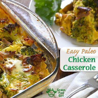 Easy Chicken Broccoli Casserole (Paleo, Low Carb, and Gluten Free).