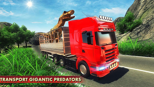 玩免費動作APP|下載怒っているディノ動物園交通トラック app不用錢|硬是要APP