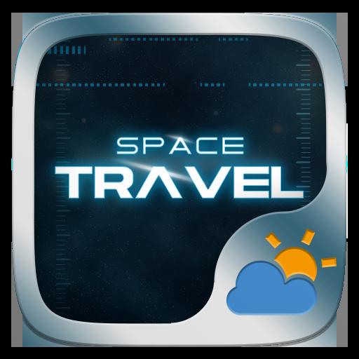 Space Travel GO Weather Widget