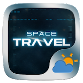 Space Travel GO Weather Widget