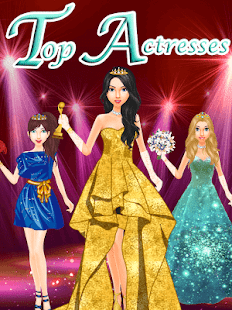 Top Model Actress Dress Up - Fashion Salon Screenshot
