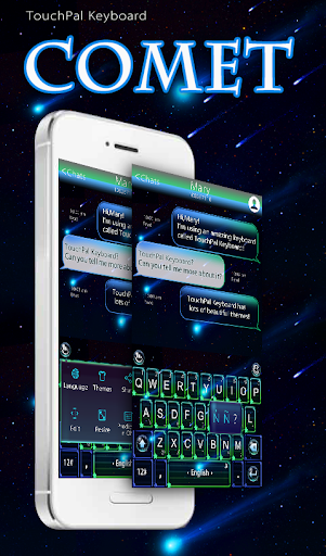 TouchPal Comet Keyboard Theme