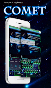 TouchPal Comet Keyboard Theme screenshot 0