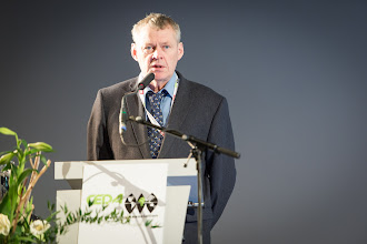 Photo: Anders Jensen, CEDA President, opens the conference and exhibition.