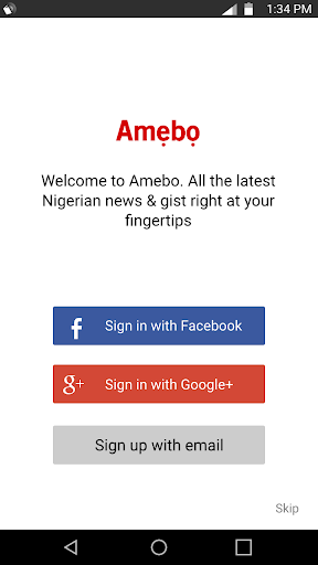Amebo - News Gist Nigeria