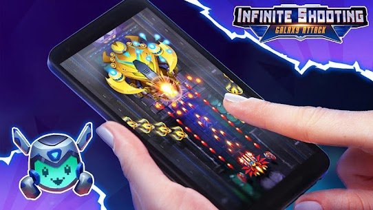 Infinity Shooting Mod Apk : Galaxy War (Free shopping) 5