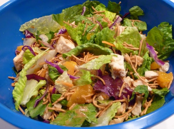 Asian Orange Chicken Salad Recipe