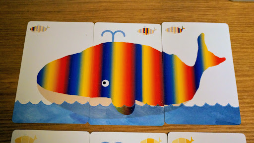 でんしゃクジラ:レインボー