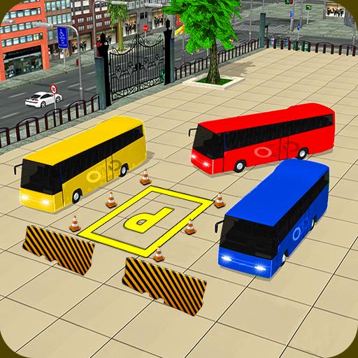 Modern Bus Parking Sim 2017 : Bus Games
