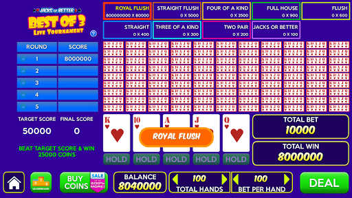 Multi Play Free Video Poker Games  screenshots 2