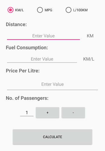 Fuely: Fuel Cost Calculator by Sarala Apps (Google Play