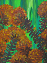 Photo: Proteas 2 Blue Mountains Oil 90cmx90cm $400