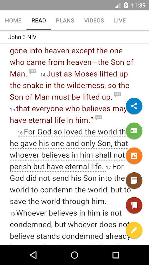 Bible- screenshot