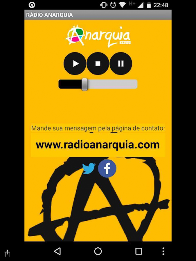 Rádio Anarquia- screenshot