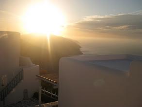 Photo: Sunsets on Mykonos... just add a bottle of wine!