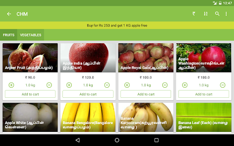 Chm Fruits and Vegetables screenshot 13