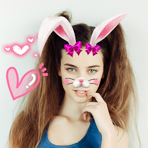 Rabbit Face🐰 Snap Pic Collage Icon