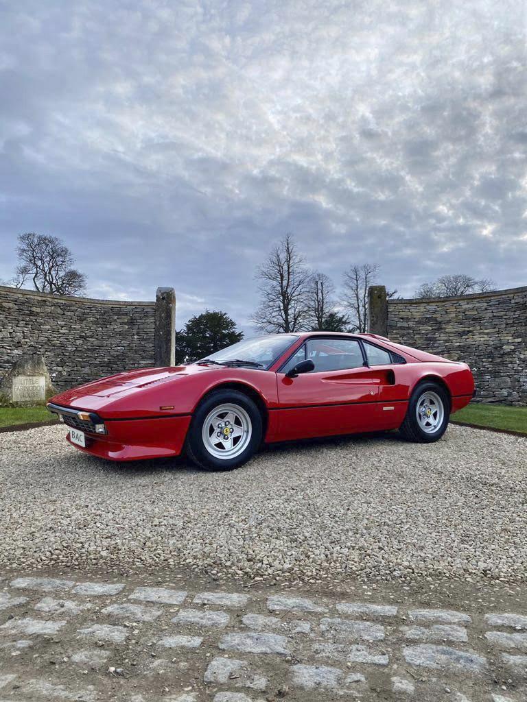 Ferrari 308 Gtb Quattrovalvole Hire Derby